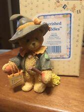 Enesco Cherished Teddies Gretel We Make Magic Me And You Witch Figurine 912778