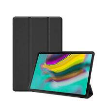 Samsung Galaxy Tab S5E 10.5 2019 Trifold PU Leather Stand Protective Flip Cover