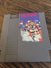 Dr. Mario (Nintendo Entertainment System, 1990) NES Cart NE4