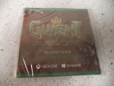 Pax East 2017 Gwent Collectible Patch Set- monsters