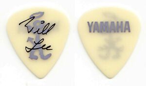 David Letterman Late Show Uncle Will Lee Signature Yellow Glow Guitar Pick 1989