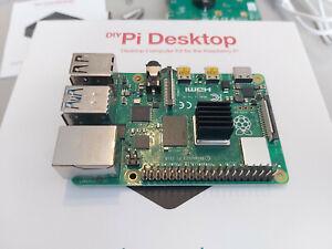 Raspberry Pi 4 Modèle B, 4G RAM - Câble HDMI - Alimentation Officielle 15.3W (C)