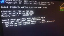 GA-6BXC Rev. 2.0 Intel 440BX/ZX 6BXC V.F4c PIII 500Mhz 64MB RAM Industrial Board