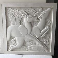 Art Deco Sculpted Plaque - Right Hand
