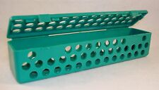 Dental Medical Surgical Instrument Sterilization Autoclavable Cassette - Teal