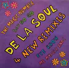 "DE LA SOUL - 4 New Remixes EP (12"") (VG-/VG+)"