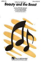 Alan Menken: la Bella Y La Bestia (medley) - 2-parte 2 parte coro, piano accompan