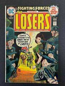 OUR FIGHTING FORCES #149 *SOLID!* (DC, 1974)  THE LOSERS!!  LOTS OF PICS!!