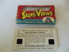 1950's Stori-Views 3D Picture Slide 2 Complete Sets, Henry Ford Model T OB More