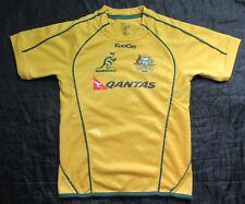 WALLABIES Australia RUGBY shirt jersey 2010-2011 CANTERBURY trikot BOY 8 Years