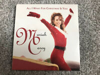**MARIAH CAREY ALL I WANT FOR CHRISTMAS IS YOU 2019 RELEASE CD SEALED NEW**