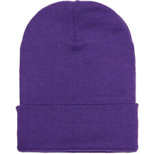 "Yupoong 12"" Cuffed Beanie Knit Cap  1501KC 18 Colors!"