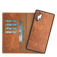 Samsung Note 10 Plus Case, abnehmbare Handytasche mit Magnet,Abnehmbar,Echtleder