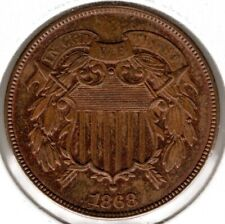 1868 Two (2) Cent - MS+++