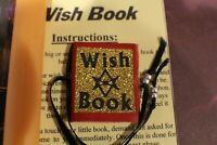 "Magickal Wishing Book, Spells, Magick,. Pagan, Incense, Power Oil, 6"" Candle"