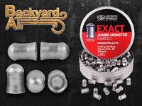 JSB Match Diabolo Exact Jumbo Monster .22 Cal, 25.39 Grains, Domed, 200ct Tin