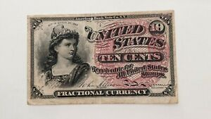 1869 - - FRACTIONAL CURRENCY - 10 CENT - m42