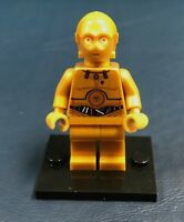 Genuine LEGO Minifigure Star Wars C-3PO with Colorful wires - Complete  - sw0365