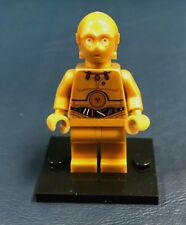 Genuine LEGO Minifigure Star Wars C-3PO with Colorful wires - Complete  - sw365