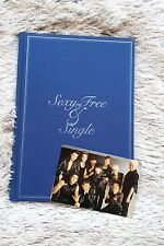 SUPER JUNIOR Sexy, Free & Single ver. A + Photocard autografata kpop
