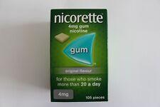 Nicorette Original Flavour 4mg Gum - 105 Pieces