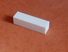 2 Nagelbuffer  Schleifblöcke  weiße Farbe
