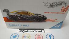 Hot Wheels ID Subaru brz (NP45)