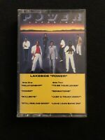 Lakeside Power 80s R&B Cassette Tape Solar Records 1987