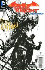 Batman the Dark Knight #23 DC Comics 2012 Alex Maleev 1:25 B&W Sketch Variant
