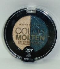 1 Maybelline Color MOLTEN Eye Shadow Duo TEAL TWIST#307 Sealed