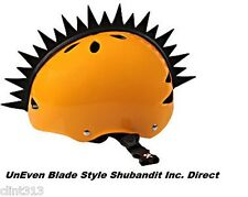 snow boarding skiing ski rubber 3M stick mohawks kids HELMET NOT INCLUDED UNEVEN