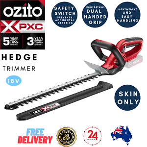 Ozito Electric Cordless Hedge Trimmer Pruner Garden Clipper Cutting Saw Blade
