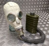 Genuine Russian / CCCP Red Star Troopers Rubber Gas Mask With Hose and Filter