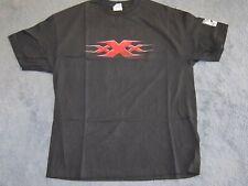 Vintage xXx Triple X Starring Vin Diesel Cool Promo Movie T-Shirt Adult Size Xl