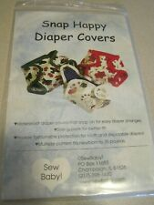 UNCUT SNAP HAPPY DIAPER COVERS Sewing Pattern Sew Baby!