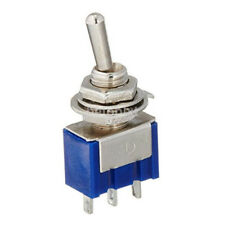 5Pcs 2A 250V AC ON/OFF SPDT 2 Position Latching Toggle Switch New FR