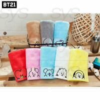 BTS BT21 Official Authentic Goods Bath Cotton Towel Pose pip Ver 40 x 80cm