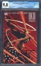 BATMAN DARK KNIGHT III THE MASTER RACE #8 CGC 9.8 NM/MT DK3