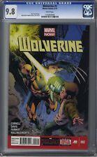 Wolverine (2013 Series) #2 CGC 9.8