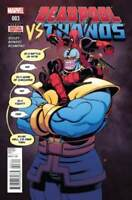 Deadpool Vs. Thanos #3 marvel comics Tradd Moore Cover 1st Print