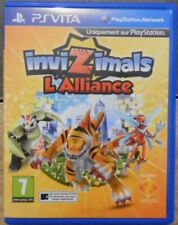 Jeu INVIZIMALS l'alliance Sony ps vita L'alliance version française D'occasion