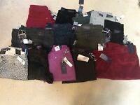 NWT NYDJ Not Your Daughters Jeans WHOLESALE LOT of 10 Pants Leggings Size 14P
