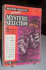 Mystère-Magazine 23 Nouvelles policières et Mystérieuses série 13 OPTA 1952