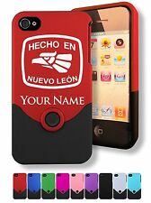 Case for iPhone 4/4s, Hecho En Nuevo Leon, Personalized Engraving Included