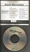 ALANIS MORISSETTE Eight Easy Steps w/ RARE RADIO MIX PROMO DJ CD single  2004