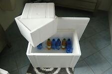 2 Stück1x Versand Styroporbox,Kühlbox,Styroporkiste, Transportbox