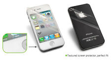 UEME Textured Dual Screen Protector For iPhone 4/4S