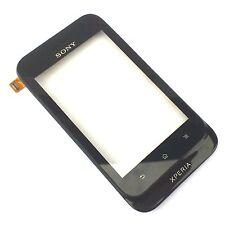 100% Original Sony Xperia Tipo St21i Fascia Delantera + Digitalizador Touch Screen Negro
