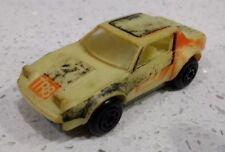 Matchbox TRIUMPH TR8 GLO-RACER #27 Toy Car 1982 GLOWS IN DARK 1:64 Hong Kong