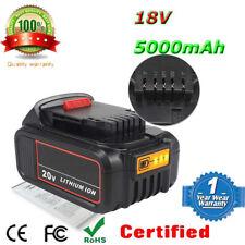 5000mAh Neuf Lithium ion Batterie pour Dewalt 18V XR Slide 5.0Ah DCB184 DCB182